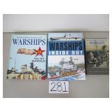 3 Books - Warships