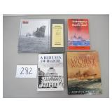 4 Books - Ship Wrecks and Sinkings