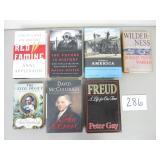 7 Books - War, Battles and Famous Figures