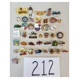 40 Novelty Pins
