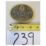 Olympia Beer Belt Buckle