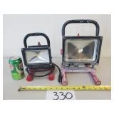 2 Husky LED Work Lights
