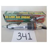 Central Pneumatic In-Line Air Shear