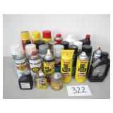 27 Assorted Chemicals / Oil / Paint (No Shipping)