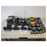 RC Cars, Controllers, Tires, Quick Charger (As Is)