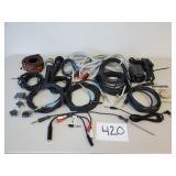 Instrument/Speaker Cables, Adapters, Mics, Etc.