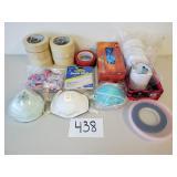 Tape, Masks, Gloves, Ear Plugs