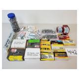 Assorted Staples, Screws, Hardware