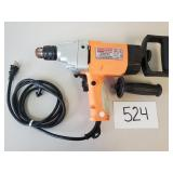 """Chicago Electric 1/2"""" Heavy-Duty Low Speed Drill"""