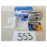 Konica Big Mini VX Compact Camera (Untested)