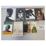 8 Books - Memoirs and Life of....