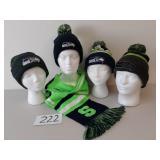 Seattle Seahawks Scarf & Hats