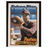 1989 Topps Sandy Alomar #648