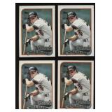 Four Cards 1989 Topps #660 Will Clark