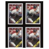 Four Cards 1988 Topps #300 Don Mattingly