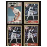 Four Cards Don Mattingly #500, #500, #500, #258