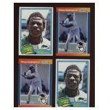 Four Cards Rickey Henderson #4 and #261
