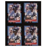 Four Cards 1988 Donruss #217 Don Mattingly