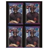 Four Cards 1989 Donruss #28 Sandy Alomar Jr Rookie