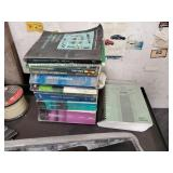 Assorted Car Repair and Parts Books