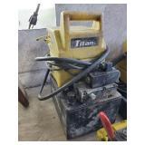 Enerpac genesis series titan power hydraulic pump
