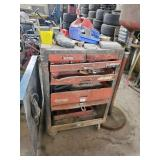 Old Tool Chest with Contents