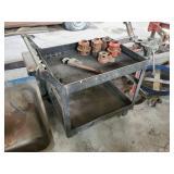 Ridgid Tool Dies and Metal Cart
