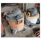 2 shop vacuums