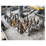 Large Assortment of Jack Stands