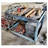 Steel Cart with Porta Power Equipment