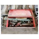 steel Box with Porta Power Equipment