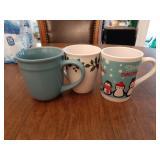 (3) Coffee Mugs