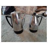 (2) Coffee Percolators
