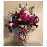Large Grand Patriotic Bouquet of Flowers