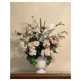 Medium Bouquet of Flowers in White Vase