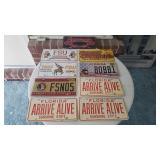 (9) License Plates
