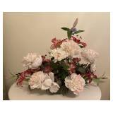 Large White Floral Arrangement Decor