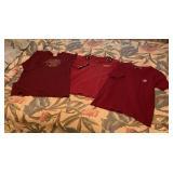 (3) FSU Short Sleeve Shirts