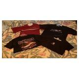 (4) FSU Short Sleeve Shirts