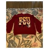 Garnet FSU Pull Over Sweatshirt
