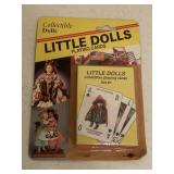 COLLECTIBLE DOLLS Little Dolls Playing Cards