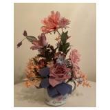 Teapot with Floral Arrangement