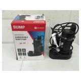 Utilitech Submersible Sump Pump USED