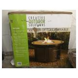 """Creative Outdoor Solutions 44"""" LP Gas Fire Table"""