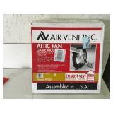 AV Airvent Inc. Attic Fan Gable Mount Unused
