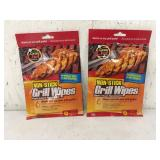Grate Chef Non Stick Wipes 2 Packs NEW