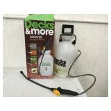 Decks & More 2 gallon Sprayer