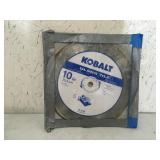 Kobalt Glass Tile Blade 10""