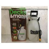 Decks & More Pump Sprayer