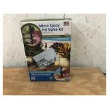Micro Spray Pot Stake Kit-Open Box